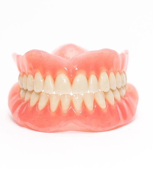 Dentures in San Ramon with white background